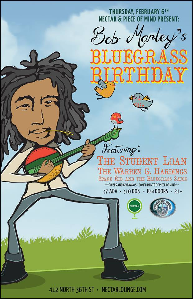 bob's bluegrass birthday