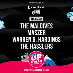 upstream stage lineup